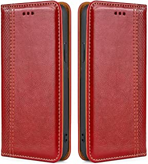DoAo Magnetic Flip Wallet Case with Card Slot Holder Leather Cover Case For vivo Y52s t1,Durable Shockproof Cover for New ...