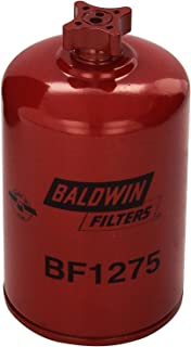 Baldwin BF1275 Heavy Duty Diesel Fuel Spin-On Filter (Pack of 2)