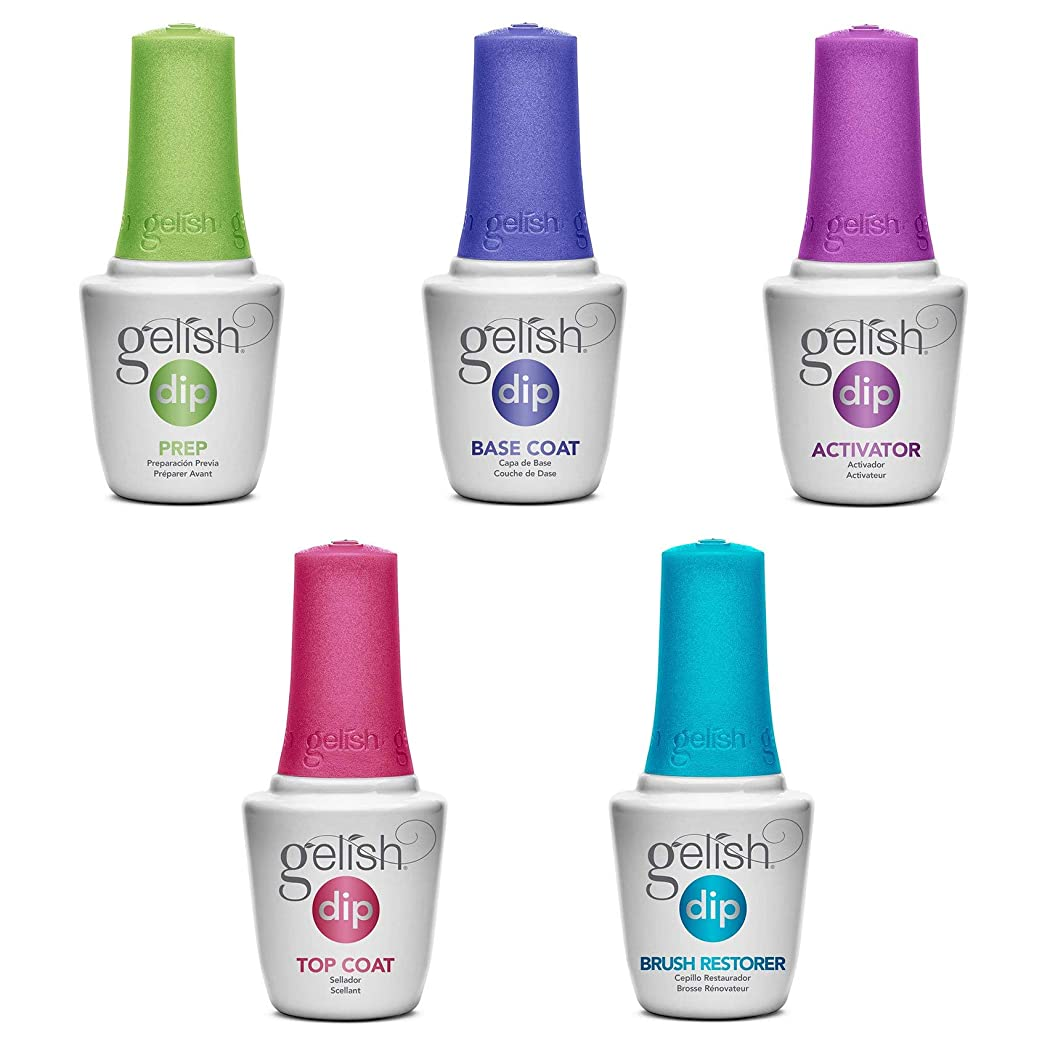 オーナー有能なソケットHarmony Gelish - Acrylic Dip Powder - Color Kit