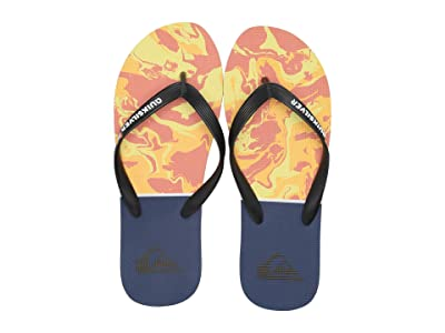 Quiksilver Molokai Print (Black/Orange/Blue 3) Men
