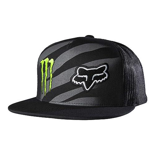 d2765a0721d58 Fox Racing Mens Monster Zebra Snapback Adjustable Hat