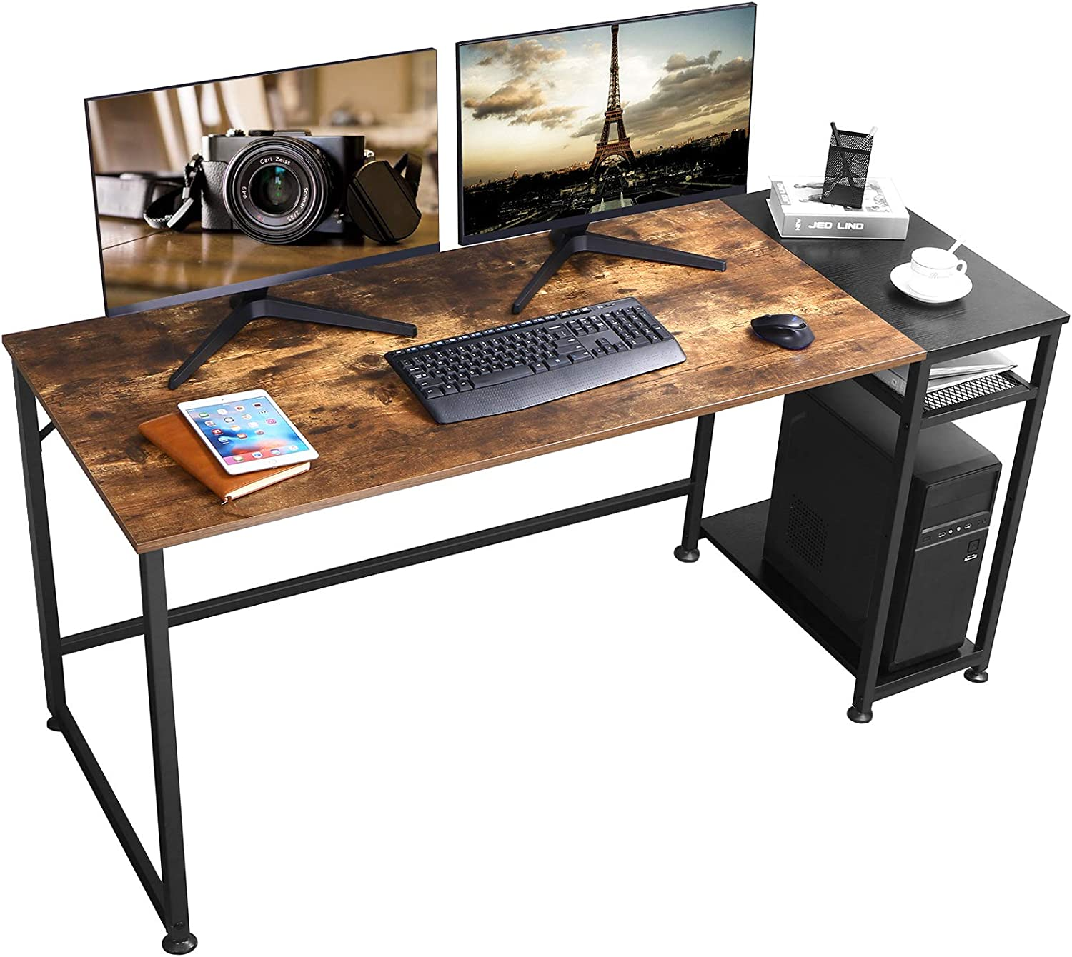 BEWISHOME Computer Desks for Home Office Inch Desk Study Max Max 80% OFF 62% OFF 63 Long