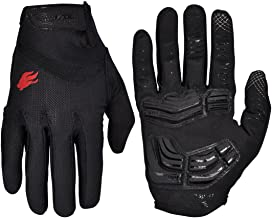 FIRELION Cycling Gloves Bike Bicycle Gloves - Breathable Gel Pad Shock-Absorbing Anti-Slip - MTB DH Road Touch Recognition...
