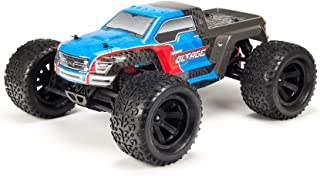 ARRMA RC Monster Truck: 1/10 Granite Voltage MEGA 2WD SRS RTR with 2.4GHz Radio | 1800mAh 6C NiMH Battery | Charger | 1:10 Scale (Blue/Black), ARA102727T2