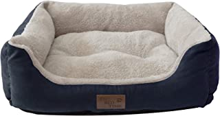 Its Bed Time - Premium Dog Bed - Raised Sides For Comfortable Sleep Positions - Non-Skid Bottom - Water Resistant Cover - ...