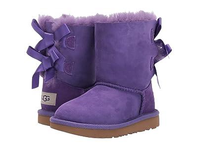 UGG Kids Bailey Bow II (Toddler/Little Kid) (Violet Bloom) Girls Shoes