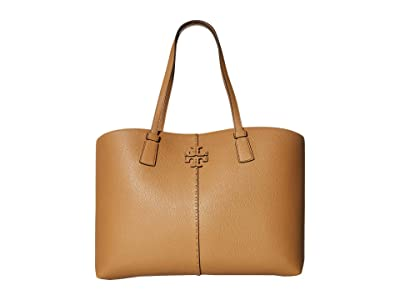 Tory Burch McGraw Tote (Tiramisu) Tote Handbags