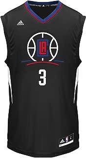 NBA Los Angeles Clippers Chris Paul #3 Men's Replica Jersey, Large, Black