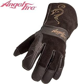 Black Stallion BSX LS50 Woman's AngelFire Premium Pigskin Welding Gloves - Large