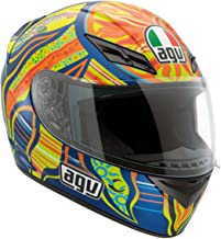 AGV K3 5-Continents Full Face Motorcycle Helmet (Multicolor, X-Large)