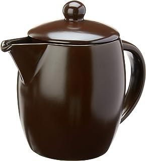 Leiteira de Cerâmica Colonial, 800ml, Chocolate, Ceraflame