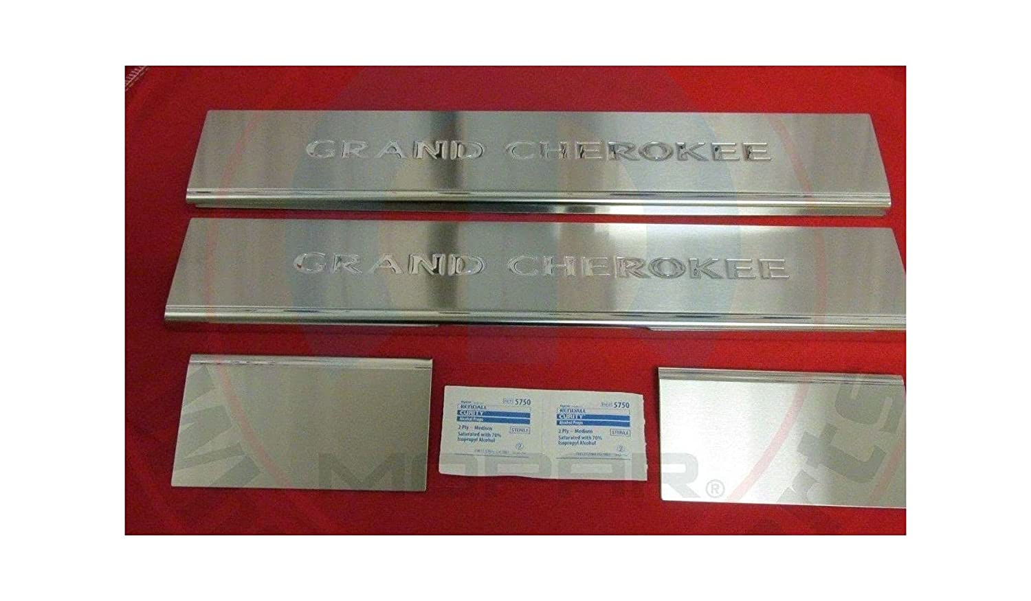 J Grand Chicago Mall Cherokee Stalnless Steel Door Slll 082212 New Max 48% OFF Guards OEM