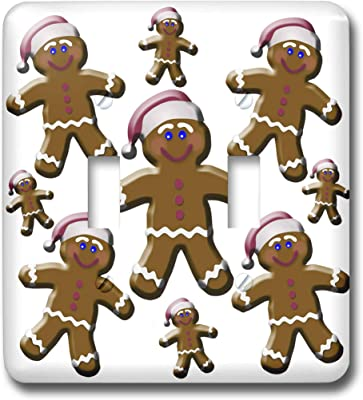 3drose Lsp 27912 1 Gingerbread Man Cookies Toggle Switch Multi Color Switch Plates Amazon Com