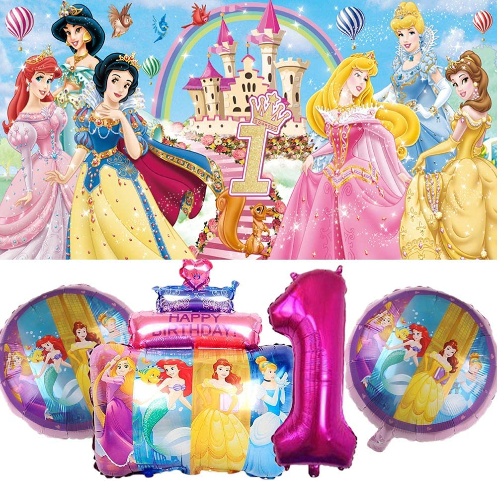Disney Princess 1st Party Supplies Free Shipping Cheap Bargain Gift First One Fo Balloons El Paso Mall