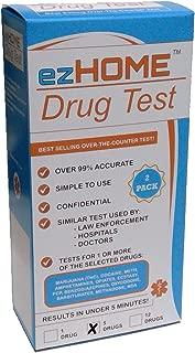 Instant Drug Test - THC, COC, MET, AMP, OPI (2 Pk)