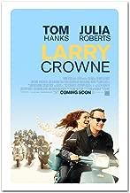 Larry Crowne Poster - Promo Flyer 2011 Movie - 11 X 17 Tom Hanks Julia Roberts Teaser