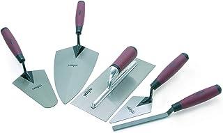 Rolson 52489 Tradesman Trowel Set – 5 Pieces