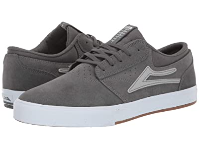 Lakai Griffin (Grey/Silver Suede) Men