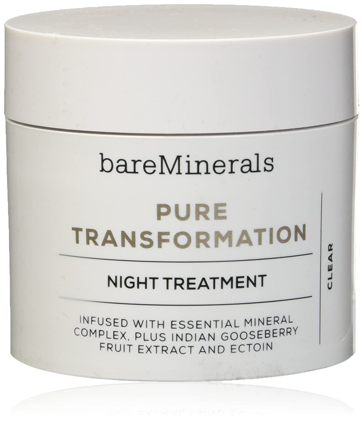 ゴムもちろん咽頭ベアミネラル Pure Transformation Night Treatment - Clear 4.2g/0.15oz並行輸入品