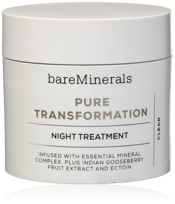 リットル同化するチョークベアミネラル Pure Transformation Night Treatment - Clear 4.2g/0.15oz並行輸入品