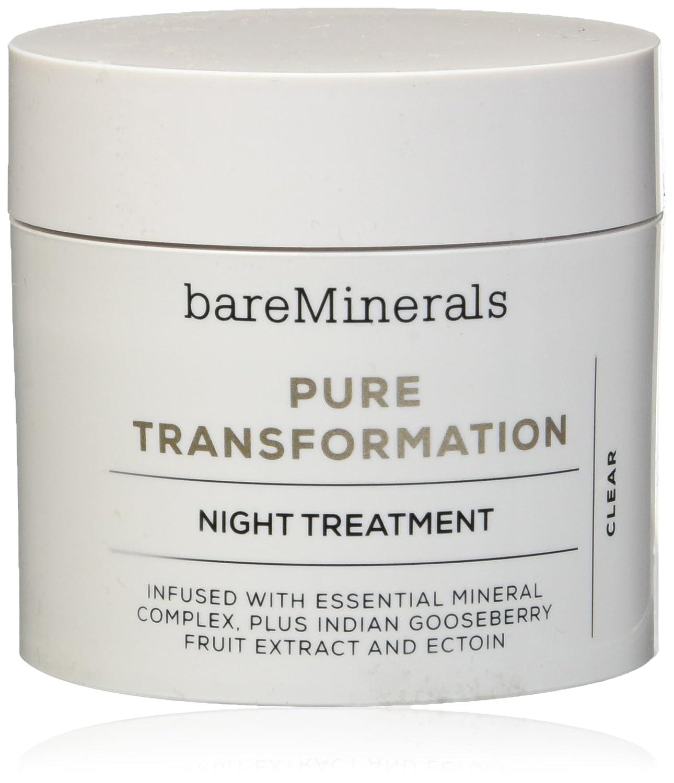 ベアミネラル Pure Transformation Night Treatment - Clear 4.2g/0.15oz並行輸入品