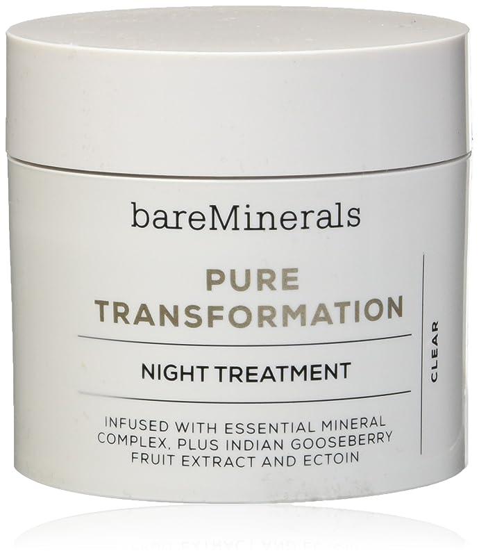薬性能お肉ベアミネラル Pure Transformation Night Treatment - Clear 4.2g/0.15oz並行輸入品