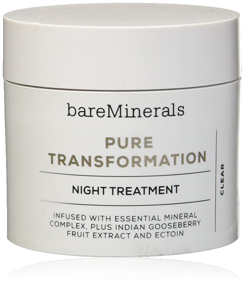 台無しにマットレス談話ベアミネラル Pure Transformation Night Treatment - Clear 4.2g/0.15oz並行輸入品