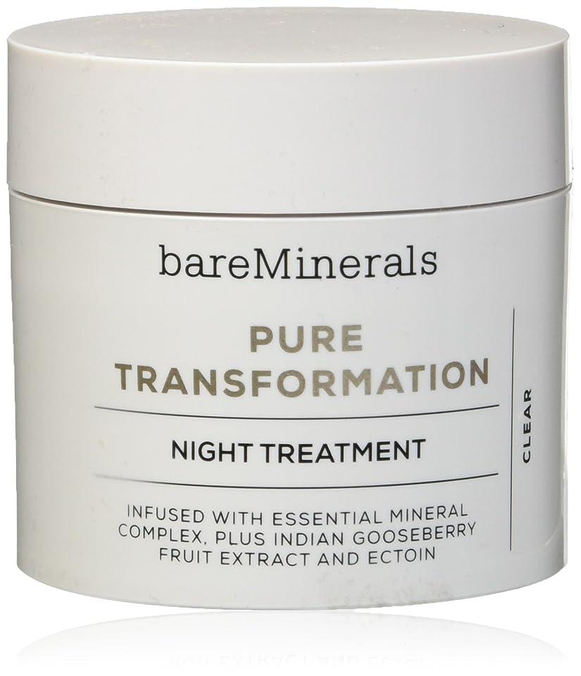 反逆トラブル中性ベアミネラル Pure Transformation Night Treatment - Clear 4.2g/0.15oz並行輸入品