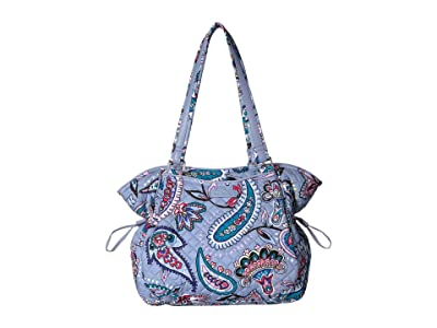 Vera Bradley Iconic Glenna Satchel (Makani Paisley) Bags