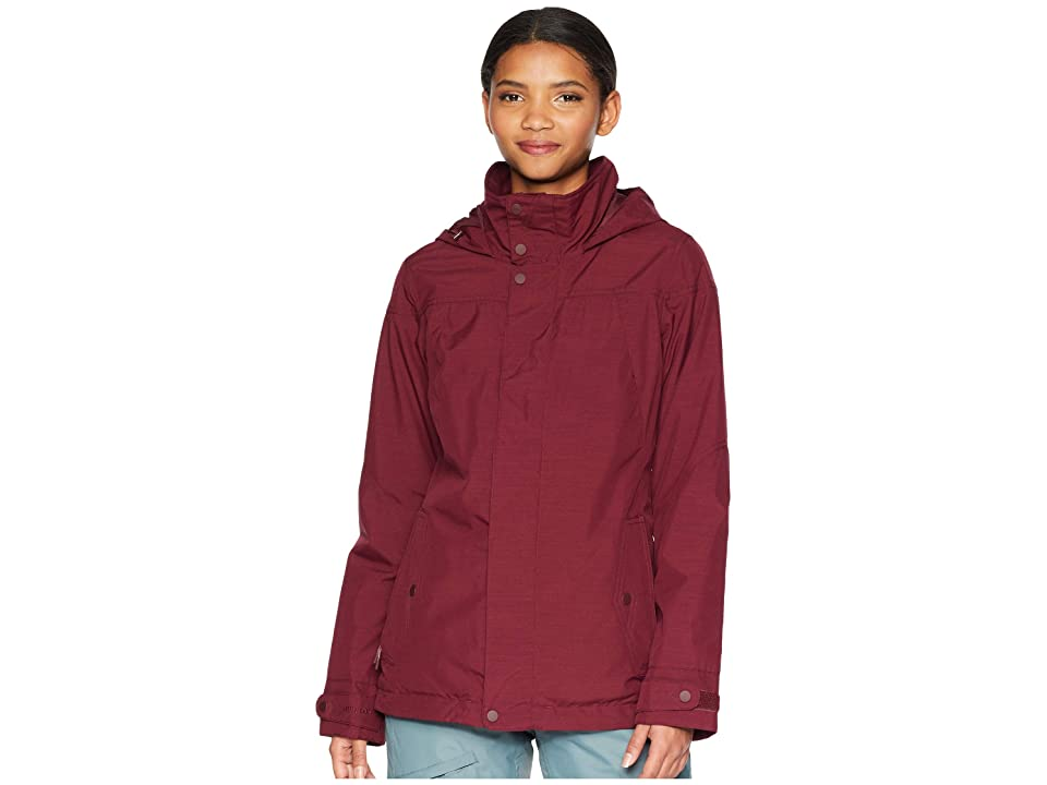 Burton Jet Set Jacket (Port Royal Heather) Women