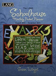 The Lang Schoolhouse Monthly Pocket Planner 2014-2015: August 2014 - December 2015