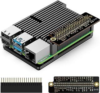 innomaker Raspberry Pi 4 Case Armor Heatsink Passive Cooling Aluminum Alloy Cover for Raspberry Pi 4 Module B Only Include...