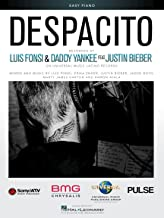 Luis Fonsi, Justin Bieber, Daddy Yankee - DESPACITO - EASY PIANO Sheet Music Single