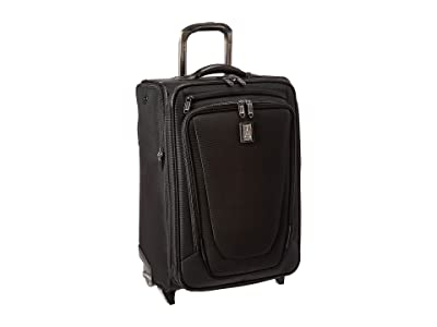 Travelpro Crew 11 22 Expandable Rollaboard Suiter (Black) Suiter Luggage