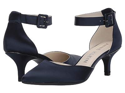 Anne Klein Fabulist (Navy Satin) High Heels