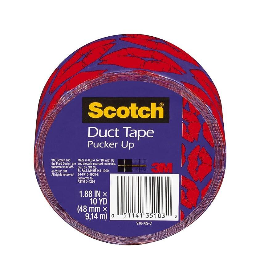 Scotch 910-KIS-C 1 1 1 Duct Tape Kisses, 1.88-Inch x 10-Yard