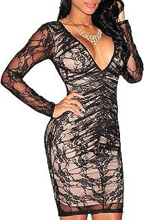 aa5d59b4fe Amazon.it: tubino donna pizzo - MYWY: Abbigliamento
