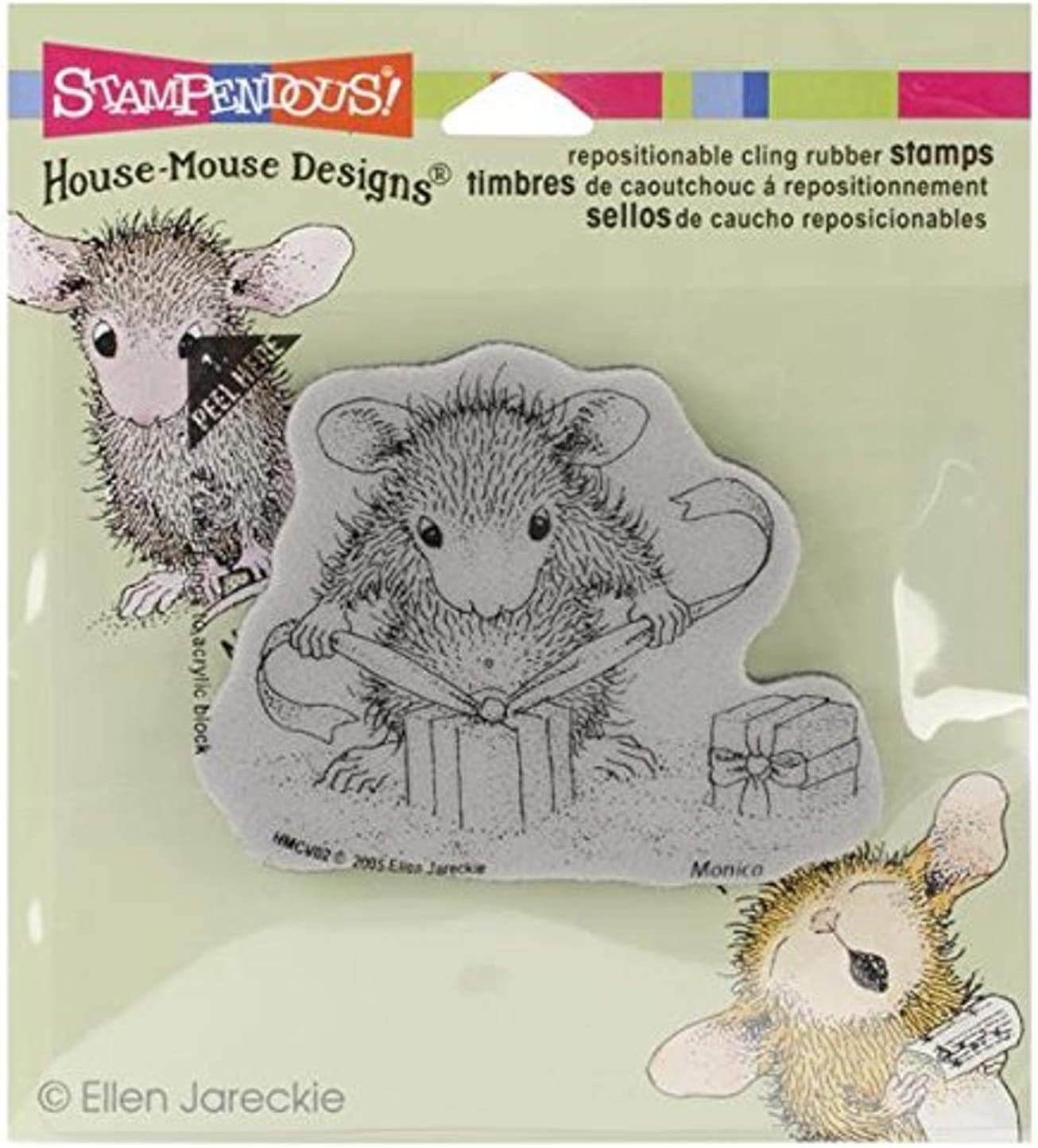 Max 83% OFF Stampendous Cling Rubber Stamp to Tie Gifts Recommendation