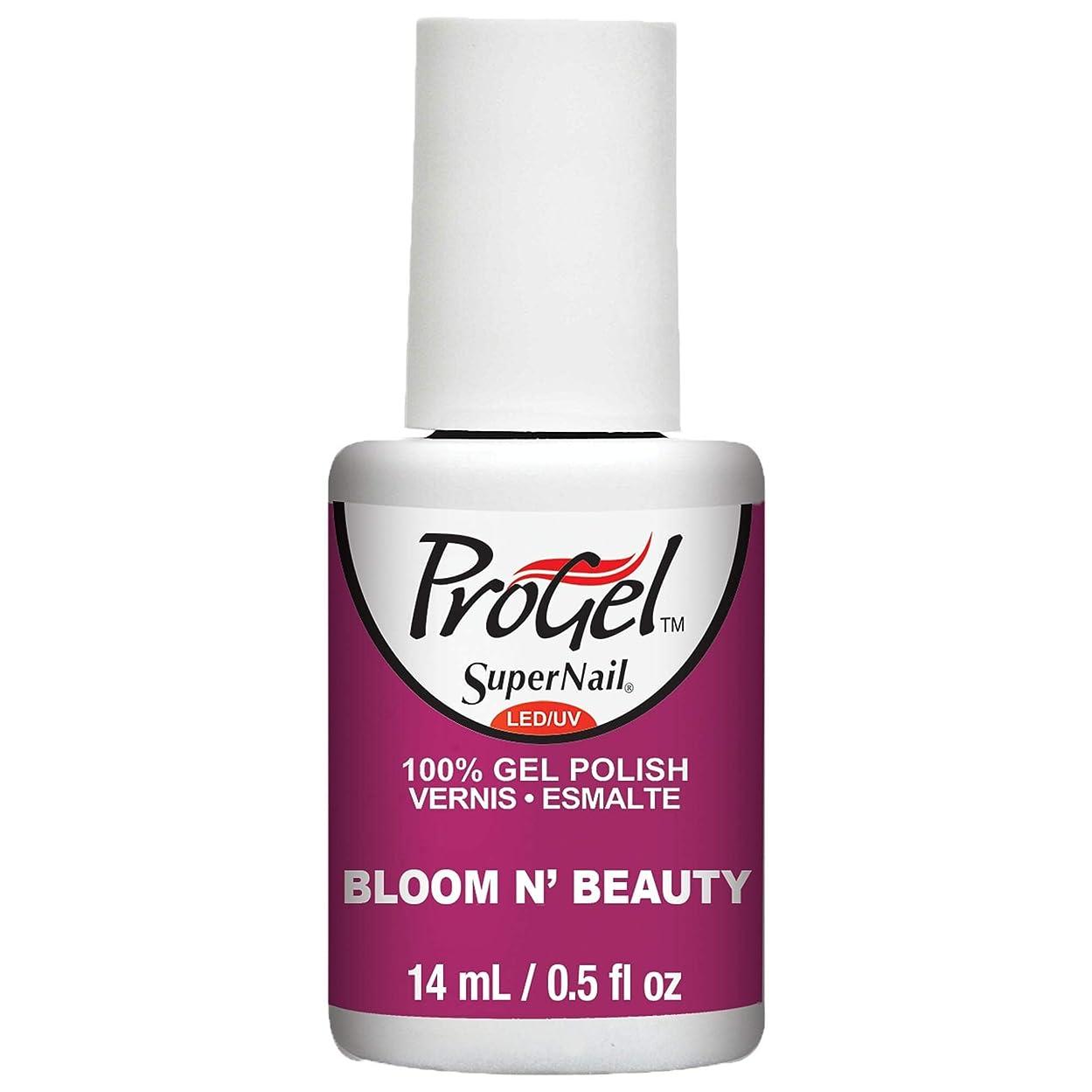 振るう重要性パワーセルSuperNail ProGel Gel Polish - Bloom N Beauty - 0.5oz / 14ml
