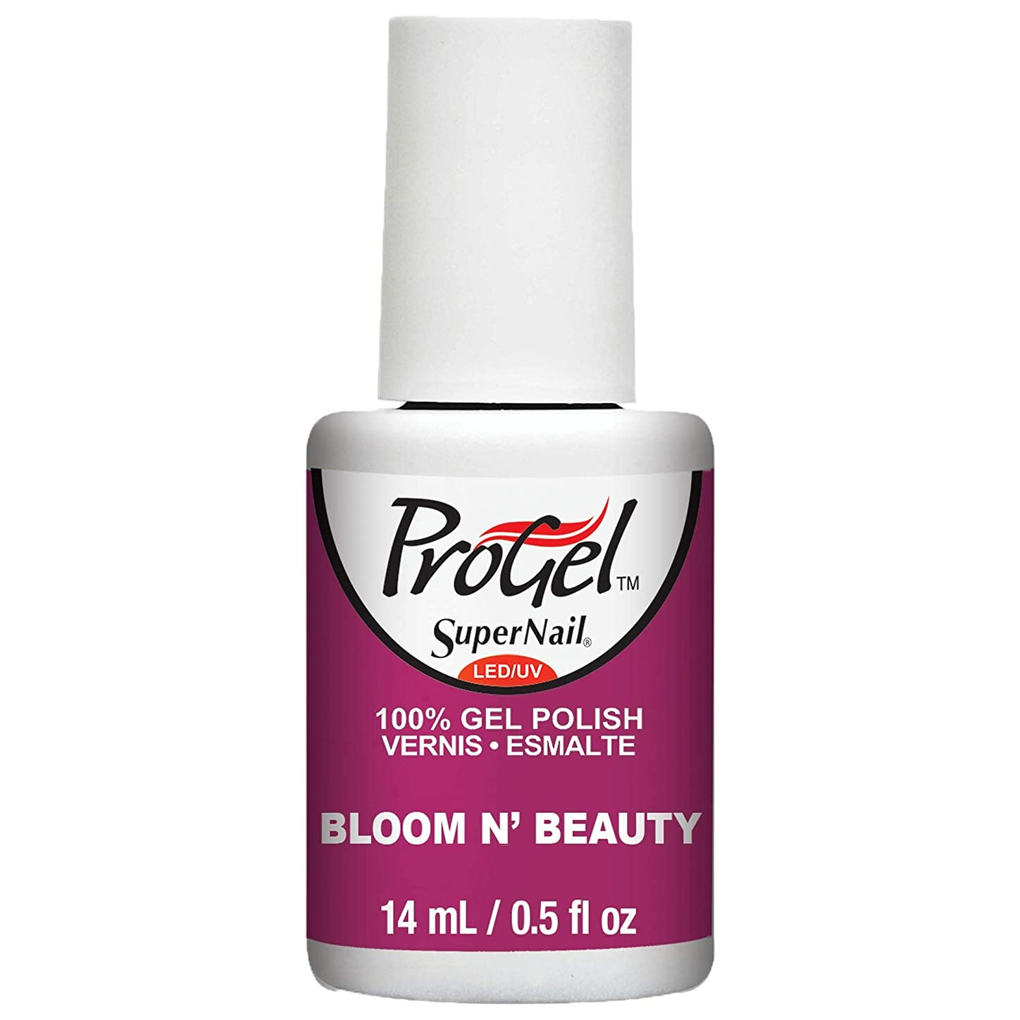 それにもかかわらず韻順応性のあるSuperNail ProGel Gel Polish - Bloom N Beauty - 0.5oz / 14ml