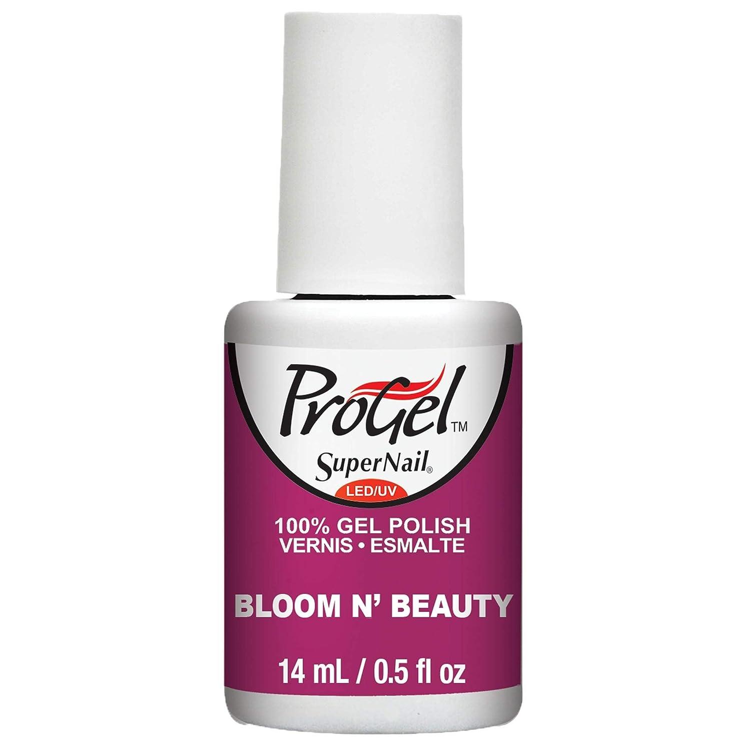 バルーン受け入れた気難しいSuperNail ProGel Gel Polish - Bloom N Beauty - 0.5oz / 14ml