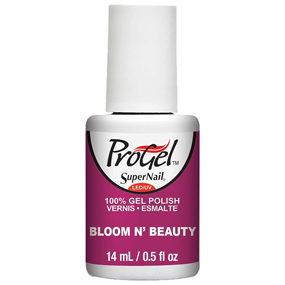 舞い上がるはさみ精巧なSuperNail ProGel Gel Polish - Bloom N Beauty - 0.5oz / 14ml