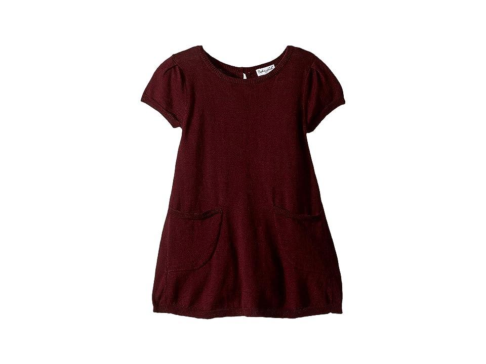 Splendid Littles Sweater Knit Dress (Little Kids) (Fig) Girl