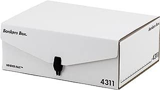 フェローズ バインダーパック 4311 A4サイズ 黒 3枚1セット 収納ボックス 1006501