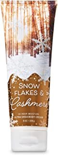 【Bath&Body Works/バス&ボディワークス】 ボディクリーム スノーフレーク&カシミア Ultra Shea Body Cream Snowflakes & Cashmere 8 oz / 226 g [並行輸入品]
