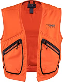 sitka blaze orange vest