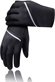 Winter Gloves for Men Women,Keep Warm Touch Screen Windproof Cold Weather Gloves for Cycling Running SMRG104