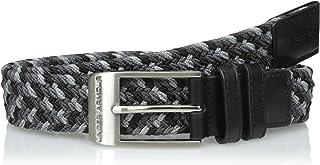 Under Armour Men's Braided Belt, Black (002)/Steel, 34