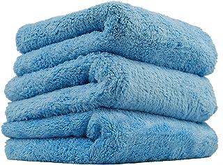 Chemical Guys MIC35003 Edgeless Microfiber Towel, Blue (16 in. x 16 in.) (Pack of 3)