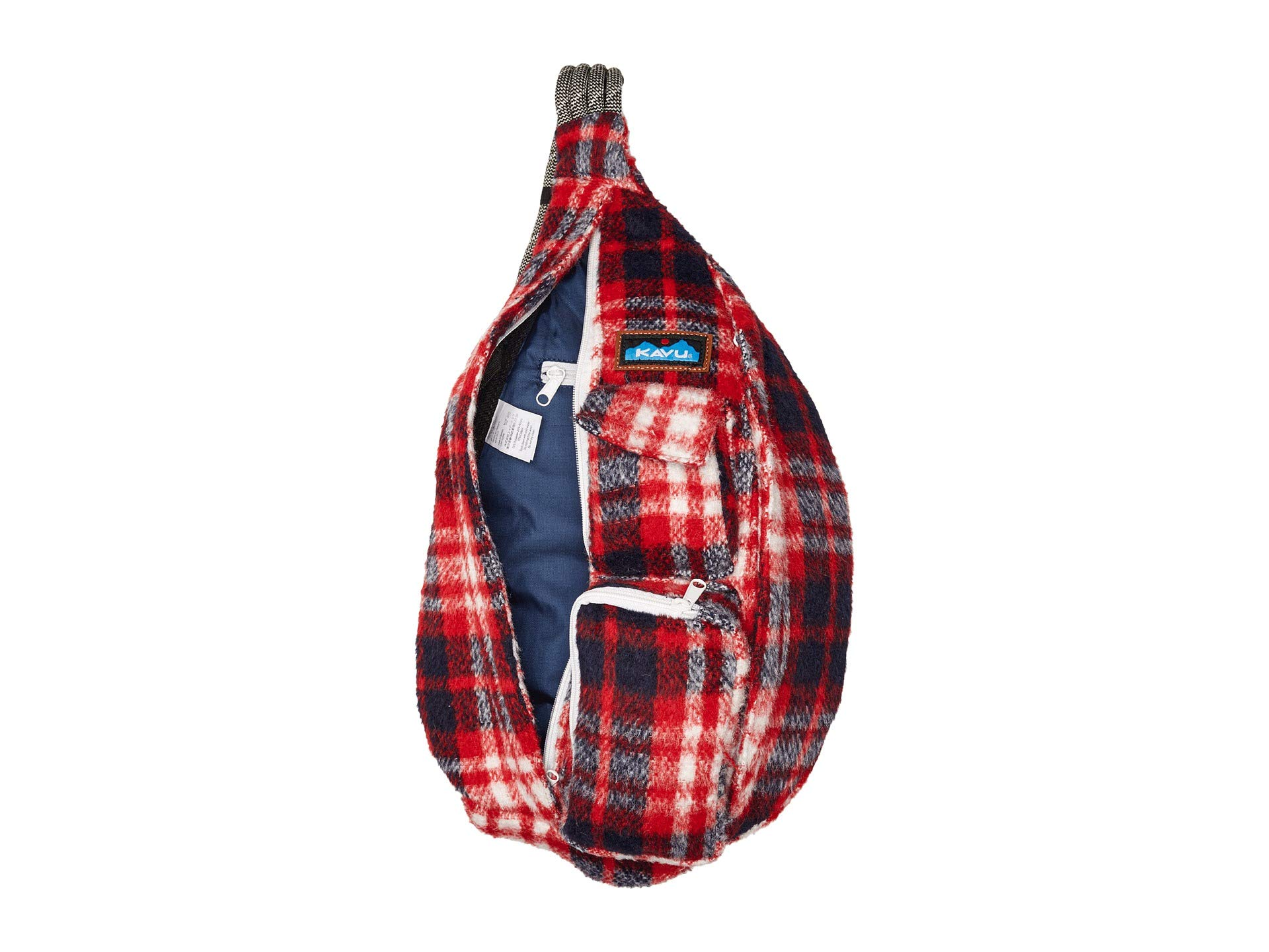 Rope Kavu Plaid Bag Kavu Americana Rope Plaid Americana Kavu Plaid Rope Bag Cc5X5